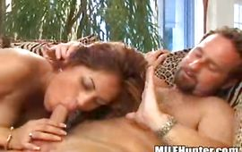 Prurient mature brown-haired Valtina asked man to fuck her brains out until she begins moaning