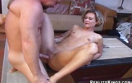 Succulent blond Bianca who loves to suck dongers