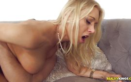 Talented fuckmate gets to have a fun in pleasing housewife Katie Morgan's nice boobies