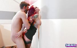 Prurient mature sweetheart Monique Alexander is squirting like no other girl while boyfriend is drilling her tang