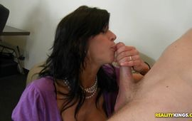Doing hot-tempered girlie Alexis Fawx's fanny by the man so damn hard