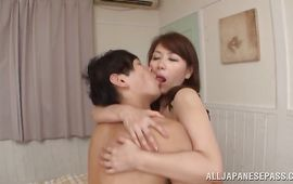 Fantastic woman Chisato Shohda is in the mood to have steamy sex in the midst of the day