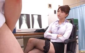 Playsome mature gal Akiho Yoshizawa got her tight poon tang stimulated the way she likes a lot