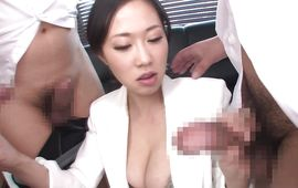 Prodigious Sayuki Kanno with massive tits is getting fucked hard in front of the camera 'cuz she is a pro