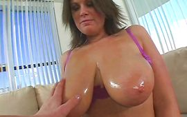 Wonderful brown-haired Lisa Sparxxx receives a thick donga in her juicy cooter