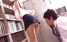 Sultry Reiko Kobayakawa with stylish tits diligently enchanting her fuckmate's enormous shaft