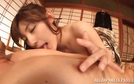Goluptious Kanako Iioka enticed easily into a sexy sexy fuck