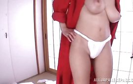 Sweet busty JULIA is sucking a huge pipe 'cuz she wants to get fucked