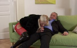 Sweet mature doxy Zafira May lets this hairy lad fuck her hardcore