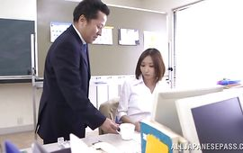 Mother i'd like to fuck Kana Narimiya is a racy that loves to please customers