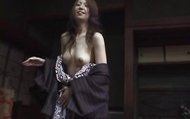 Savory breasty mature bombshell Tomoe Hinatsu can't wait to feel a rock hard python in her babe pot