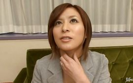 Beautiful mature Yuria Sena got thoroughly fucked until she started groaning from joy