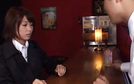 Nice lovely mature Nanami Kawakami gives head and gets it hard in doggy style