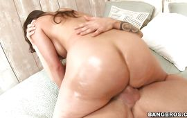 Beguiling mature Alexis Breeze is getting filled up with a hard fuck prick and groaning from enjoyment while cumming