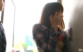 Playsome mature Haruka Itoh gets intensely penetrated and she likes it