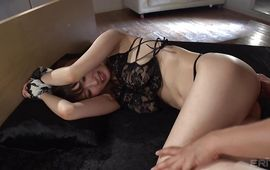 Sexy Ruka Hinami with round tits and dude are making love