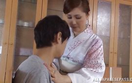 Kinky Yuri Matsushima is ready for some wild and delightful pounding