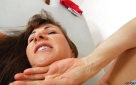 Delightful mature Alexandra Silk gets drilled like there's no tomorrow
