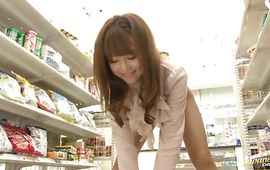 Captivating mature whore Akiho Yoshizawa wants her tasty vag demolished hard