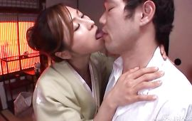 Pleasant mature diva Akari Asahina and her pumped up bf enjoy the sexy afternoon