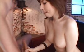 Mature gf Yuria Satomi with curvy tits is a raunchy who cant get enough chopper