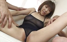 Hot mature Jun Kusanagi with massive tits is fucking stranger who is not her husband cuz she is super horny
