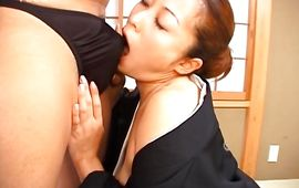Extraordinary busty mature maiden has a fuck with her attractive fellow