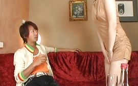 Remarkable Miku Tanaka wants to be drilled like a dirty wench