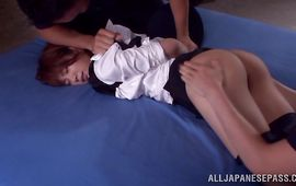 Plowing goluptious older Mayu Nozomi is something that all fellows desire to do