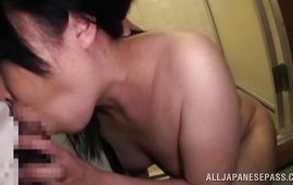 Enchanting mature honey receives a chopper in her tight tunnel of love