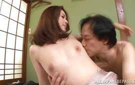 Fascinating maid Yurie Matsushima gets her juice cunny plowed in