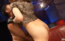 Sex appeal mama China Nishino takes care of that cock's needs