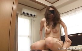 Salacious mature honey Aoi Aoyama with great tits is ready to suck a phallus