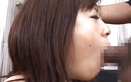 Overwhelming perfection Nana Aoyama with big tits rides rock solid penis wildly