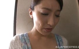 Lusty mature beauty Marina Matsumoto has pleasure with her lad toy dude