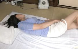 Passionate aged floosy Ayumi Takanashi got fucked in the cunt after she was eagerly sucking bf's rod