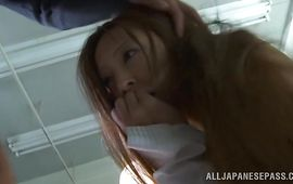 Shameless bombshell Manami Suzuki is who can't live without to get screwed until she cums