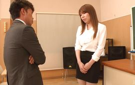 Curvaceous busty mature Iroha Suzumura got down and dirty with man like never previous to
