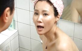 Curvaceous mature Runa Akasaka with handsome tits is groaning while hunk is fucking her brains out