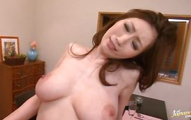 Swingeing mature JULIA is getting gangbanged by boyfrend after he licked her wet poon tang