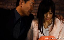 Agreeable mature Erina Fujisaki got down and bawdy with stranger