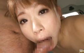 Appetizing mature slut Yuu Konishi with round tits is turning dude's dreams into reality each time they meet up