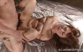 Blasting and digging fresh bimbo Sena Kojima eager sweetheart pot for a hot agonorgasmos