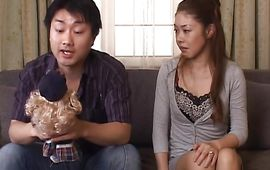Sweet babe Misa Tachibana's tight cooter is driving playmate avid with pleasures