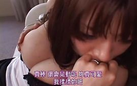 Dazzling big breasted mature diva Nao Mizuki taking a monster slim jim in this hardcore scenery