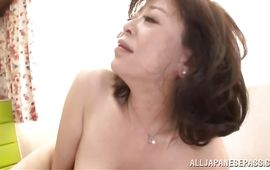 Sex appeal aged Chizubu Terashima craves for sex and gets lots of it