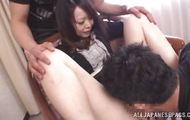 Beautiful mature beauty getting spoon fucked so deep