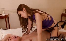 Stupefying older Asami Ogawa got stuffed the way she wanted