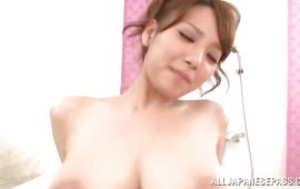 Luxurious Shion Utsunomiya with big tits can't live without rough fuck