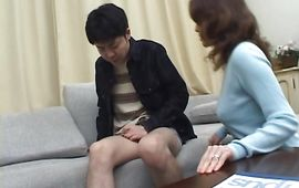 Immodest mature gf Mina Toujou and she is ready for some act
